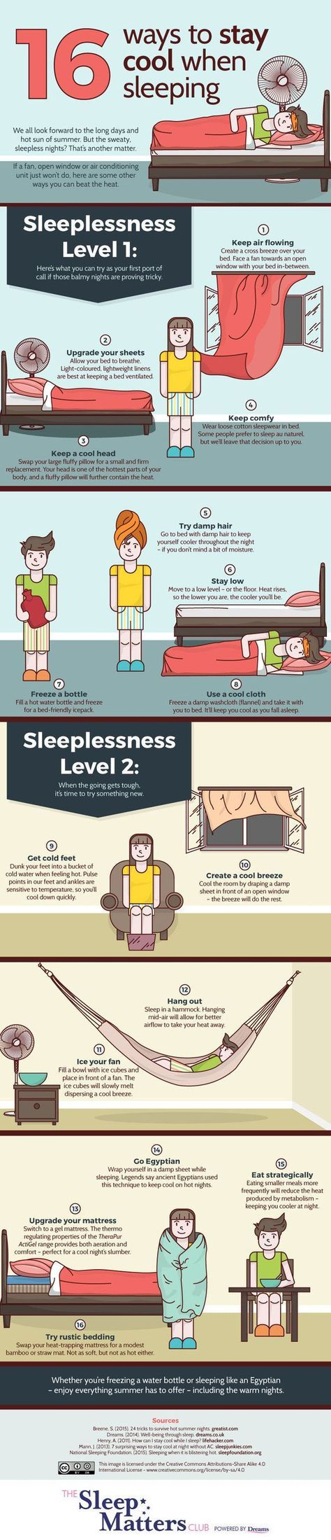 Because good sleep is glorious. 1. Figure out exactly how many hours you should get. http://sleepfoundation.org Read about this in more detail at The National Sleep Foundation. 2. Know your stages of sleep, and plan your sleep schedule around them. http://healthcentral.com You don't want your alarm to go off when you're smack in the middle …