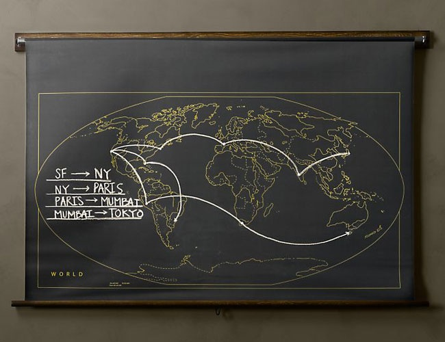 military chalkboard world map matt s apt pinterest diy