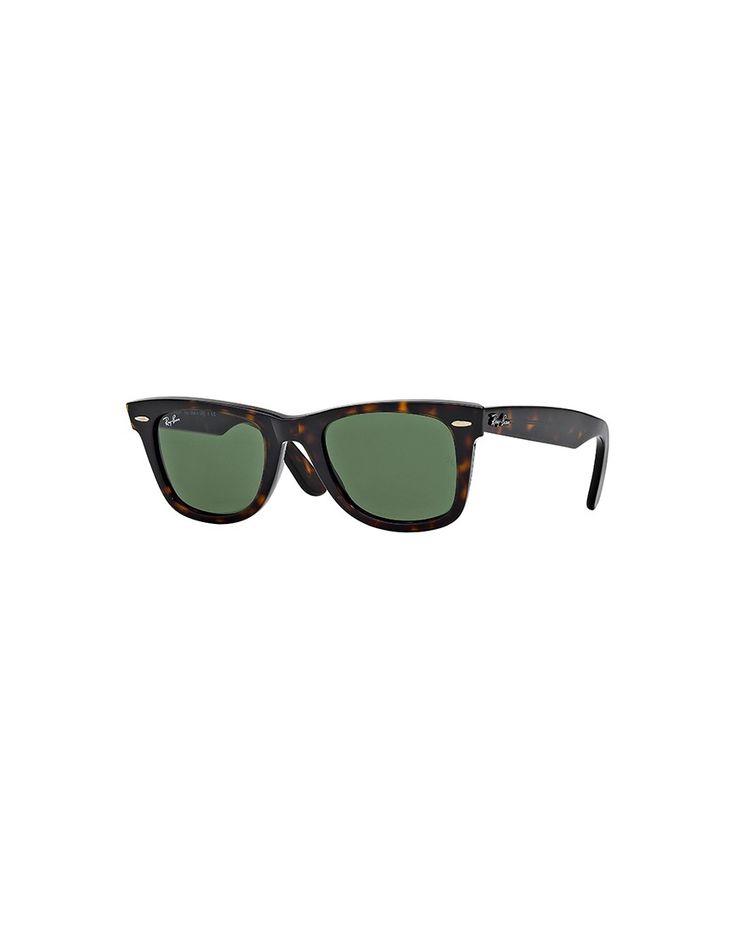 Ray-Ban Wayfarer Sunglasses Brown   Shop men's sunglasses at The Idle Man