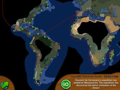European Exploration - A Game for Learning About The Age of Discovery