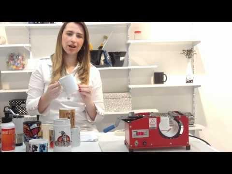 Aprenda a personalizar canecas com a Máquina de Estampar Canecas Rimaq - YouTube