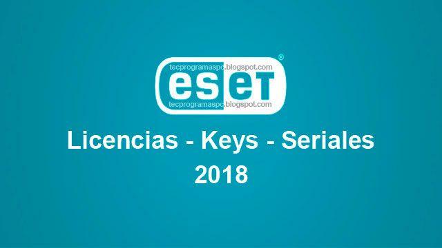 Licencias Keys Llaves Eset Nod32 Antivirus 11 Eset Smart Security Premium Eset Internet Security Y Eset Mobile Security Versiones 8 9 10 11 Toda Llaves