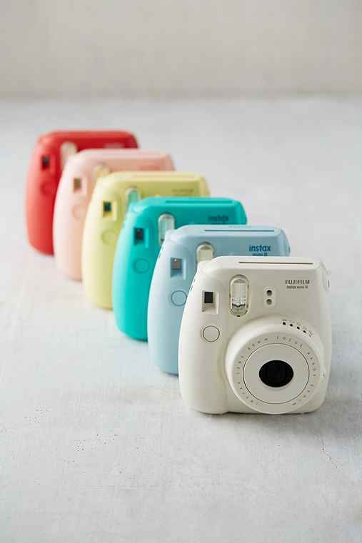 Fujifilm Instax Mini 8 Instant Camera $70 (COLOR: SKY) ***Not actually for my apartment obv I just want it***