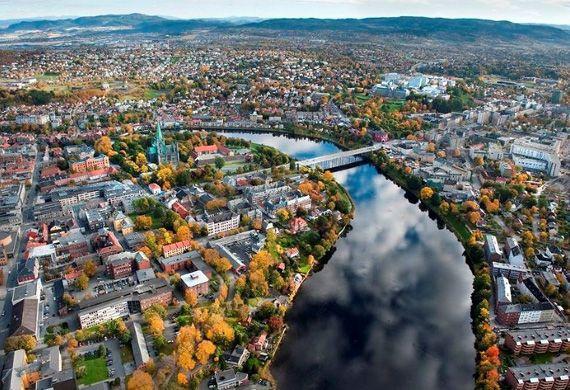 blogdetravel: La Trondheim, pentru meciul de fotbal Rosenborg - ...
