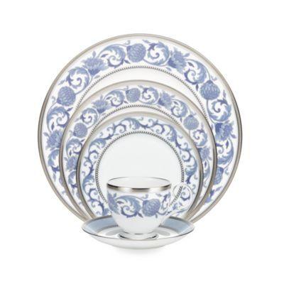 Noritake® Sonnet in Blue Dinnerware Collection - BedBathandBeyond.com