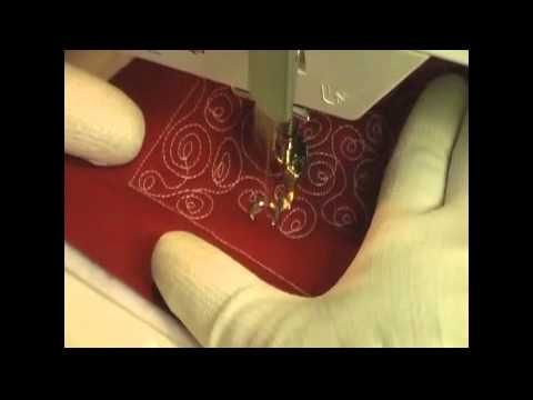 Free Motion Quilting Video: Spiral Knots