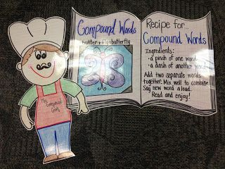 Mrs. Terhune's First Grade Site!:Compound Words  Anchor Charts