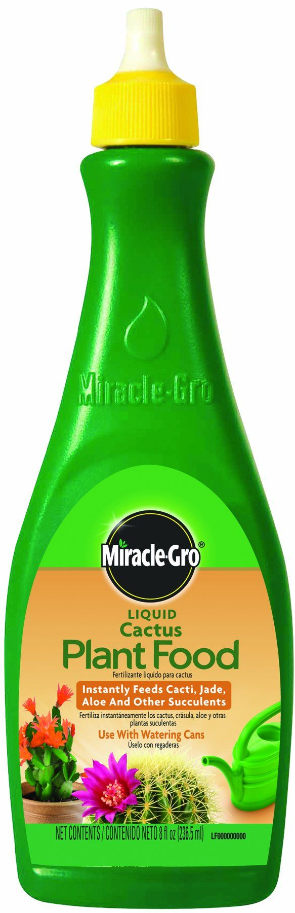 Miracle-Gro 100054 Liquid Cactus Plant Food (Fertilizer for Cacti, Jade, Aloe, and Other Succulunts)