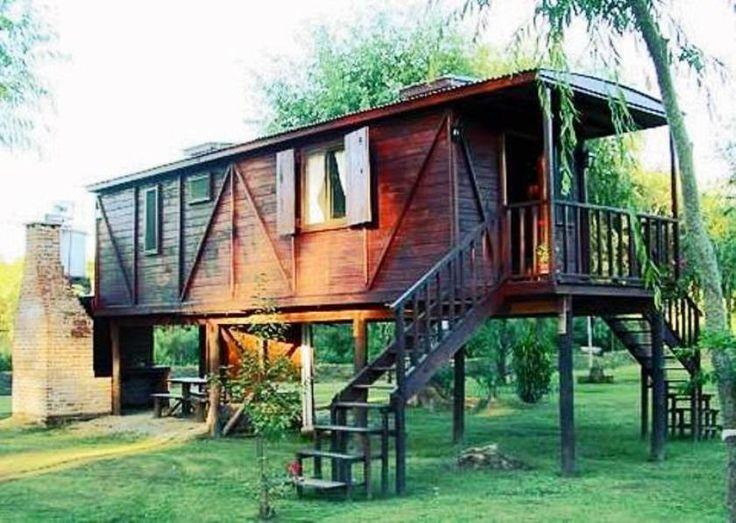 Caba as vagones bungalows alpinas troncos madera piedra - Comprar casa en hendaya ...