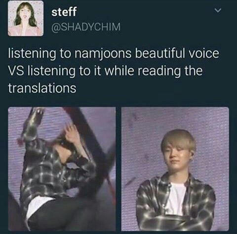 Hmmm *read lyrics* *massages head and chest*