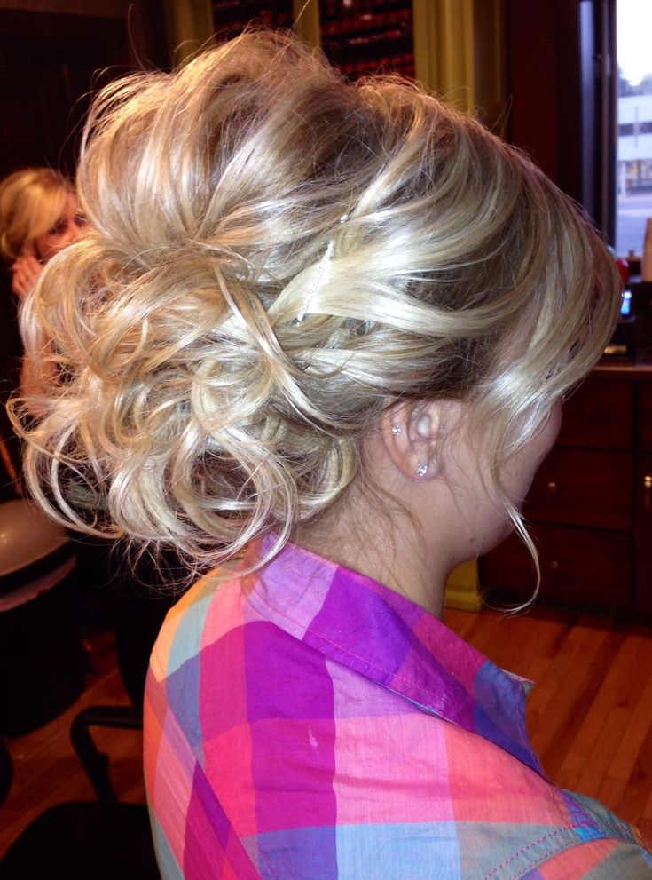 ❤️ Bridesmaids hair