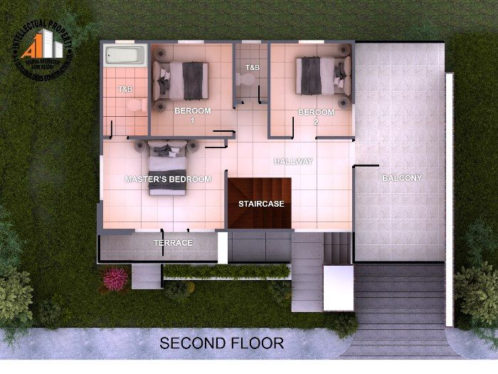 Spectacular Two Storey House Design With Impressive Interior House And Decors In 2020 Two Story House Design 2 Storey House Design Two Storey House