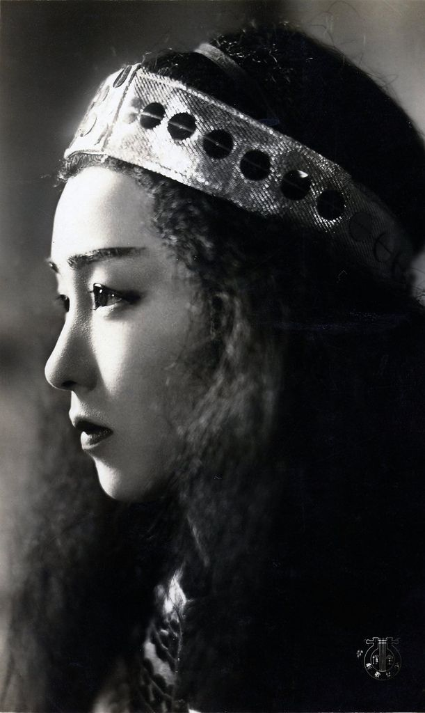 An as yet unidentified Japanese Movie Actress from the 1940s.