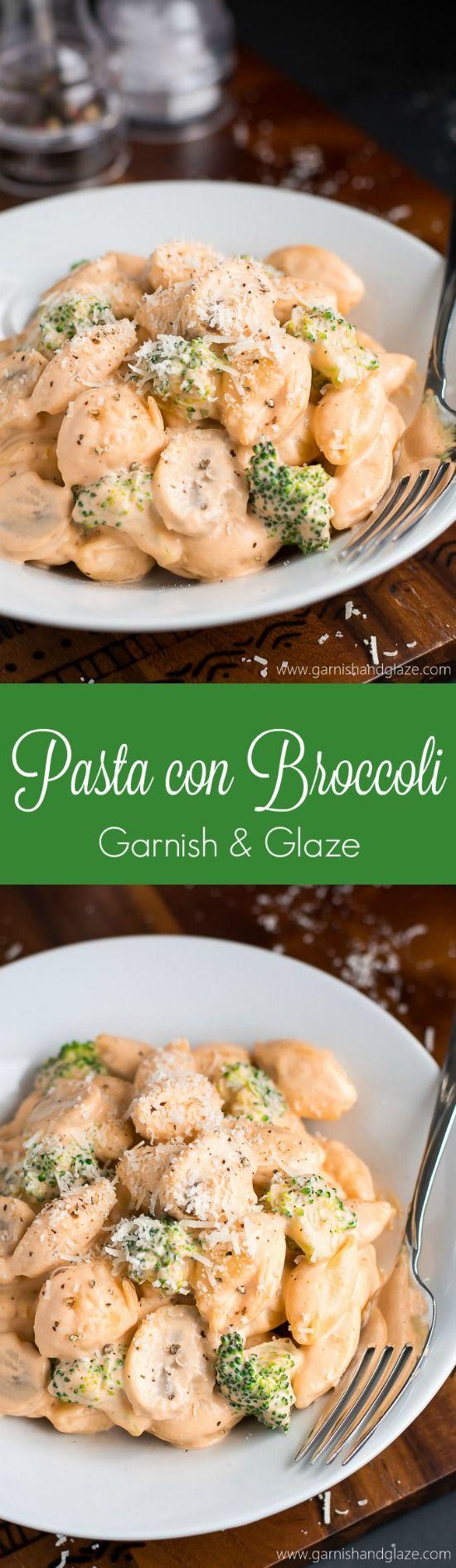 Cunetto s pasta con broccoli recipe