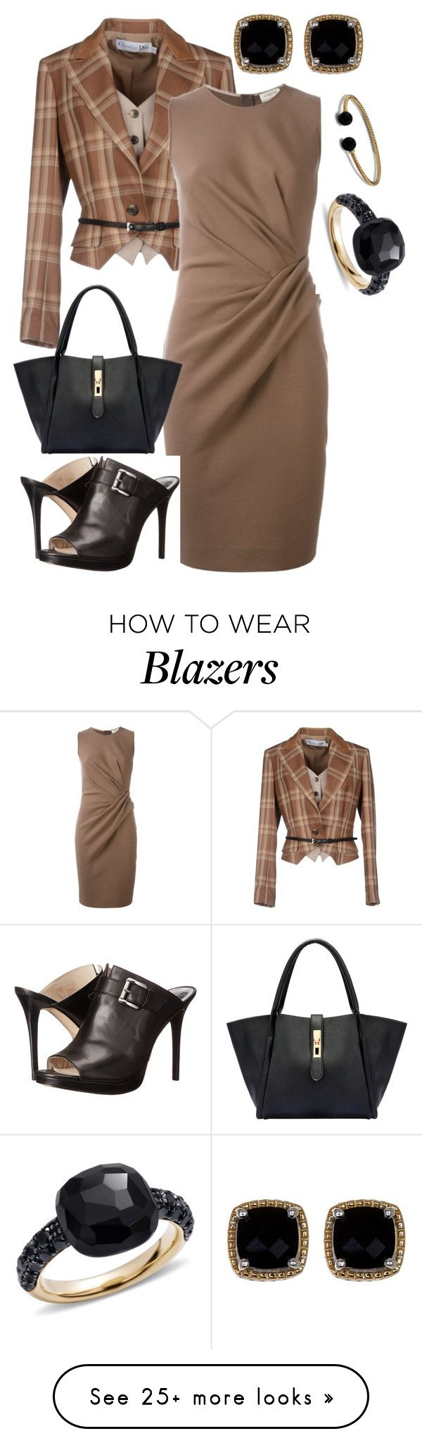"""""""Fall Adventure"""" by dolenka on Polyvore featuring Christian Dior, Lanvin…"""