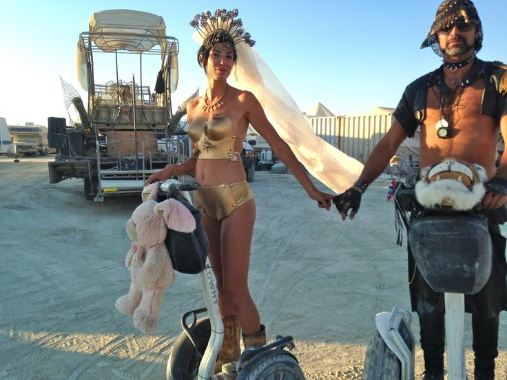 Burning Man Costumes http://www.businessinsider.com/craziest-costumes-at-burning-man-photos-2013-9?op=1