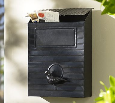 "*Opulent Outdoor Space*     Nothing says ""Welcome to our Dream Home"" like friendly curb appeal. Having a rustic mailbox creates a homey feel from first glance. As a bonus, your mail delivery person will be thrilled with the fashionable fixture. I like the rustic look, and classic black color of this mailbox."