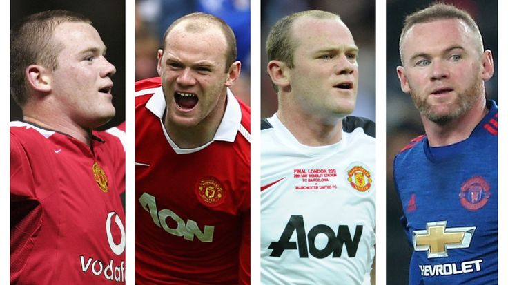 Rooney: Season by season at Manchester United - Official Manchester United Website