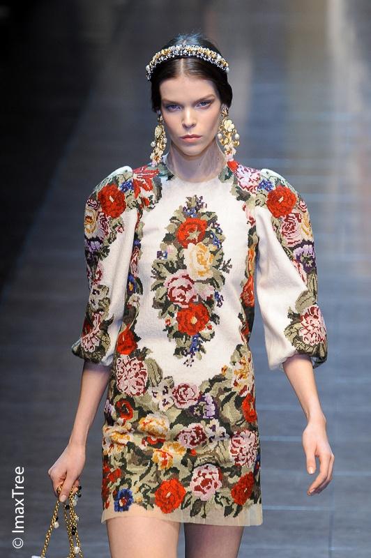 Preciosismo / Dolce & Gabbana fw 2012-13