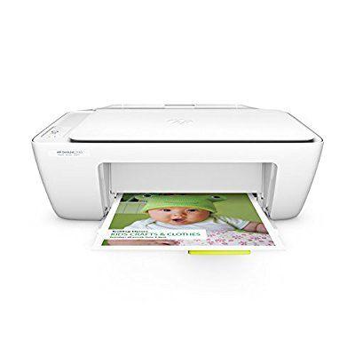 HP DeskJet 2130 - Impresora multifunción de tinta - B/N 20 PPM, color blanco