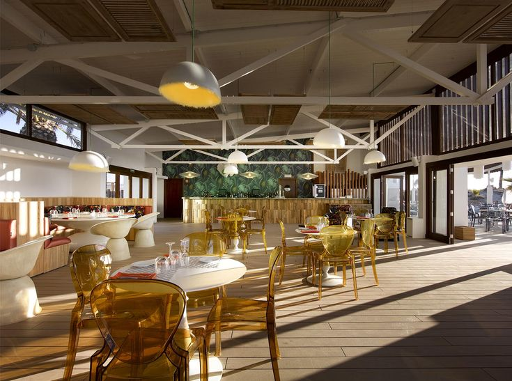 www.idecksystems.com - HardRock Hotel in IBIZA island! Gorgeous place ;-) the DURO deck by iDecking fits so well at the Beach Club Restaurant ! Looking for the easiest and quickest deck system to install - check