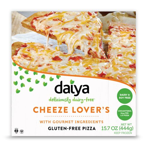 Cheeze Lover's Pizza - Daiya Foods, Deliciously Dairy-Free Cheeses, Meals & More