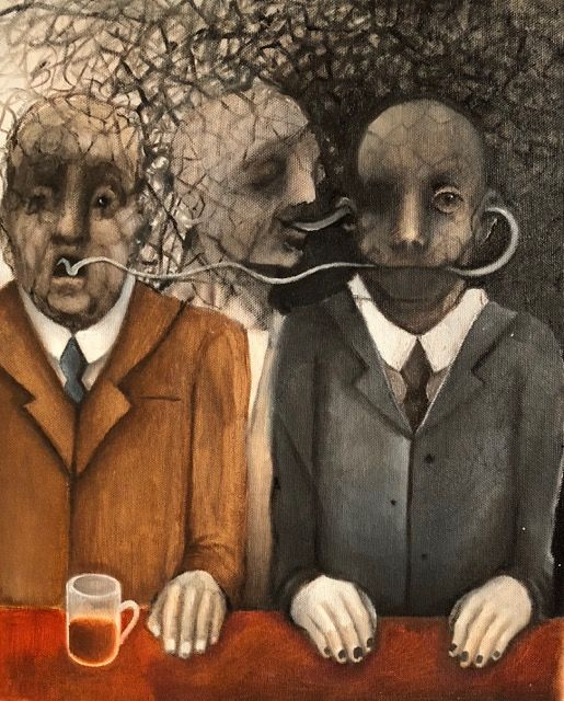 DIALOGUE by Blatton arts for selling, amazing art