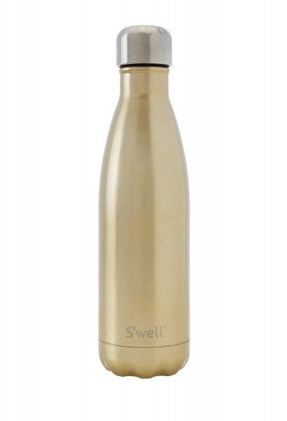 Swell Glitter Champagne Stainless Steel Insulated Bottle - 500ml