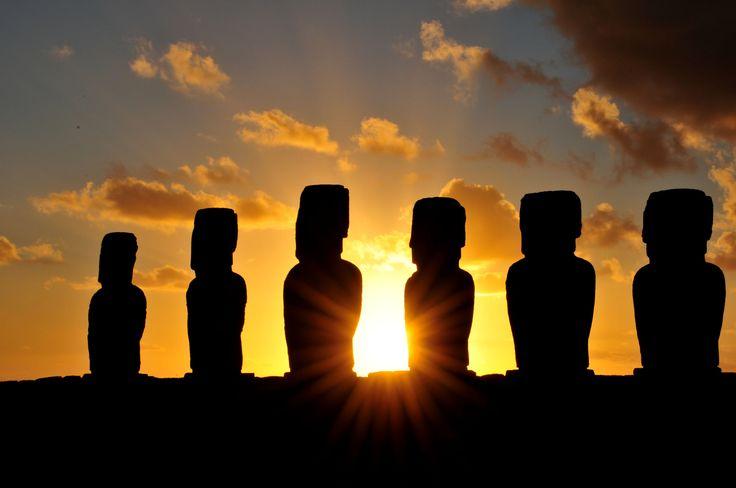 Ahu Tongariki en Rapa Nui. Foto de Diego Vargas Muñoz.