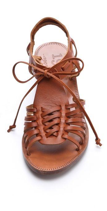 Madewell Huarache Wedge Sandals