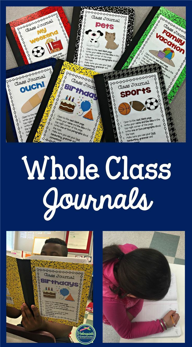 Whole Class notebooks are such an EASY addition to Work on Writing, or Writing Centers, and help build a classroom community of writers!