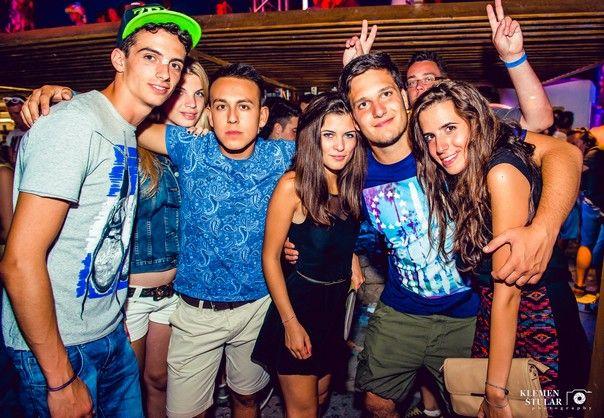 Fotos aus dem Club Papaya im Sommer 2014. Freundlicherweise zur Verfügung gestellt von Klemen Stular #zrce