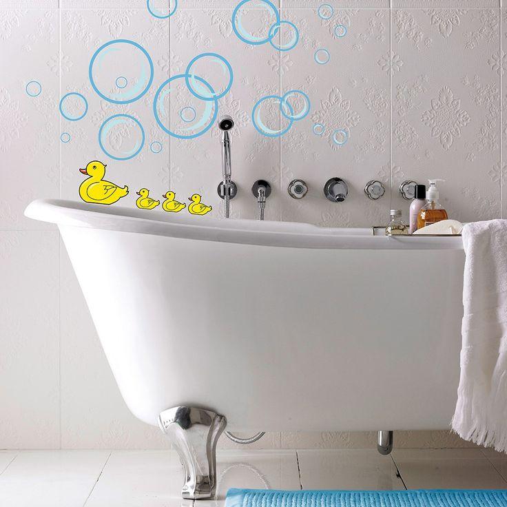 Wandtattoo Bubble Ducks – Bild 2