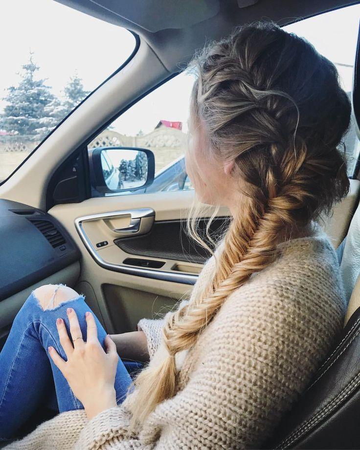 "Polubienia: 85, komentarze: 47 – Patrycja (@stateof_dreams) na Instagramie: ""Saturday #hairstyle 🌹 #braid #dailyhair #longhair #blonde"""