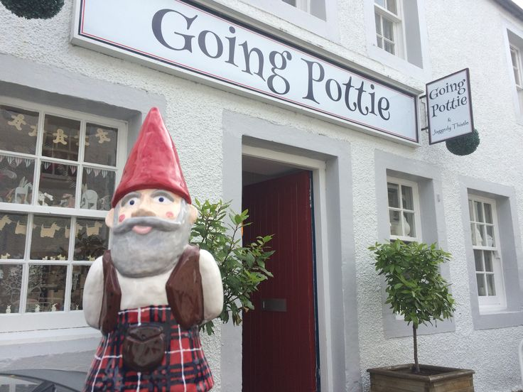 MacGnome at his home Going Pottie, Dunkeld, Scotland