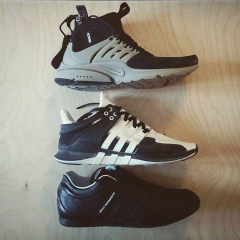 Spring rotation ... ⭕✴ #acrnm #acrnmpresto #adidaseqt #adidasconsortium #eqtadv910 #Y3 #yojiyamamoto #boxing trainer #techwear #hypefeet #hypebeast #snobshots #streetbeast #highsnobiety #techninj #sneakers #nike #nikeacg #allconditionsgear
