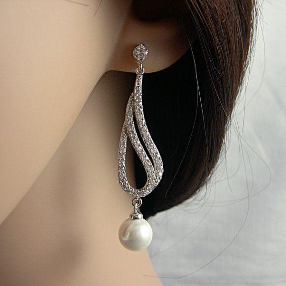 Wedding earrings!