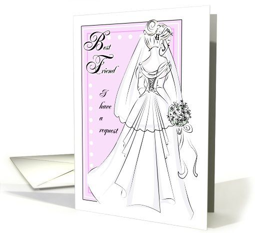 Greeting cards for friends wedding dress