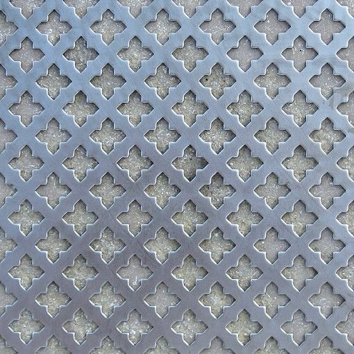 »Lochblech Kreuzloch kantig Stahlblech unbehandelt« von Replicata - Stahlblech unbehandelt - Replikate