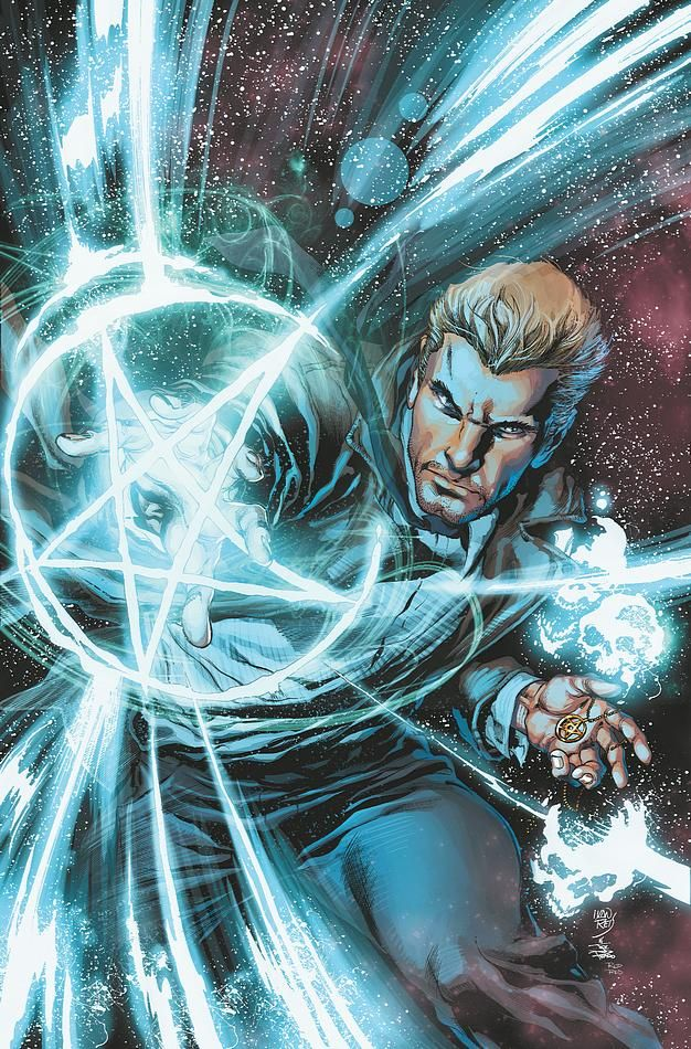 I love this guy. Constantine is like a modern day Van Helsing. Out to fight all the evil the world has to offer. From demons to vampires he is out to stop them all from making Earth into their playground