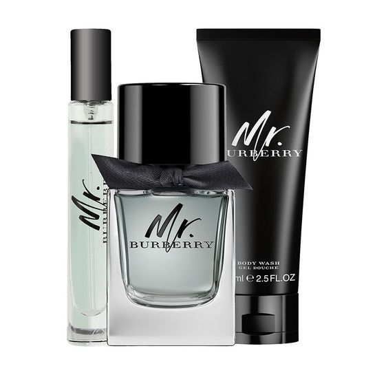 d8a387ad59 Discover Burberry Mr. Burberry Eau de Toilette Gift Set 50ml from Fragrance  Direct. Shop top brand name fragrances and skin care products at a great  price.