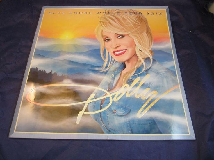 Dolly Parton Blue Smoke World Tour 2014 Book program souvenir collectible