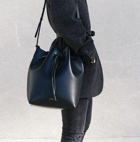 Minimal + Classic: Mansur Gavriel bucket bag