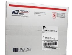 USPS Labels - Priority Mail Labels - Click-N-Ship Labels - OnlineLabels.com