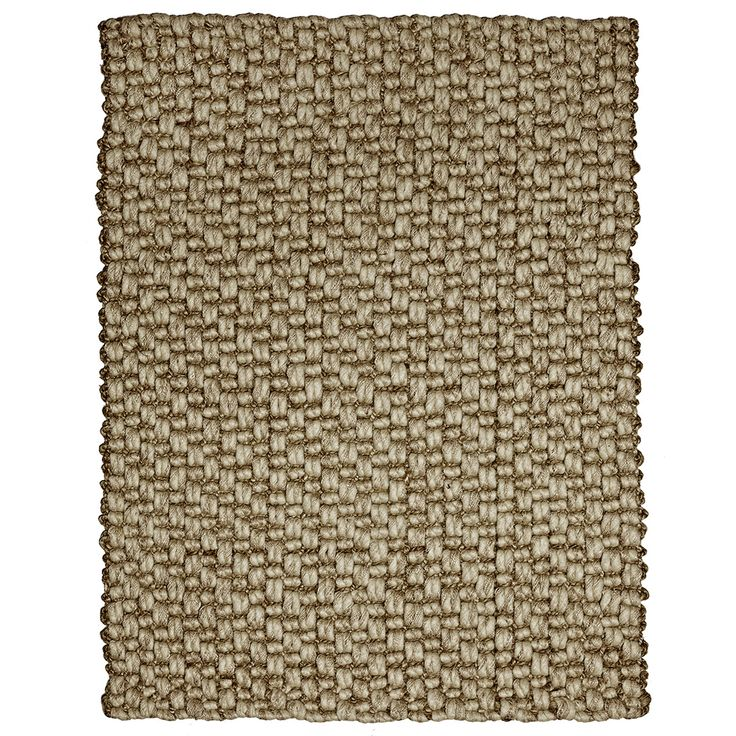 The Bodhi rug is made from a combination of wool and jute fibers. The rug features handspun jute and wool, both versitile and plentiful natural fibers.
