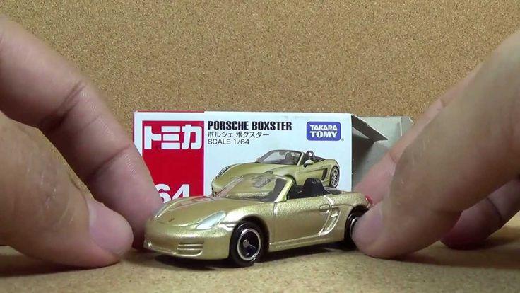 Tomica 064 - Porsche Boxster Die-cast Car
