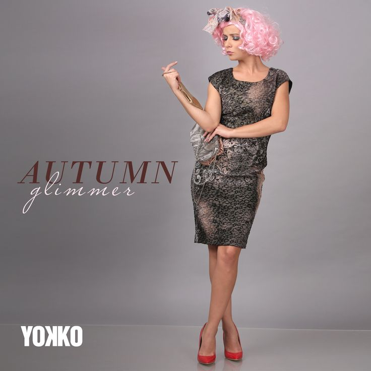Let your beauty shine everyday! #fall17 #shine #autumn #eveningoutfits #dresses #fashion #beauty #women #yokko #madeinromania
