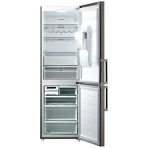 Buy Samsung RL58GPEIH Non-Plumbed Fridge Freezer, Inox Steel Online at johnlewis.com