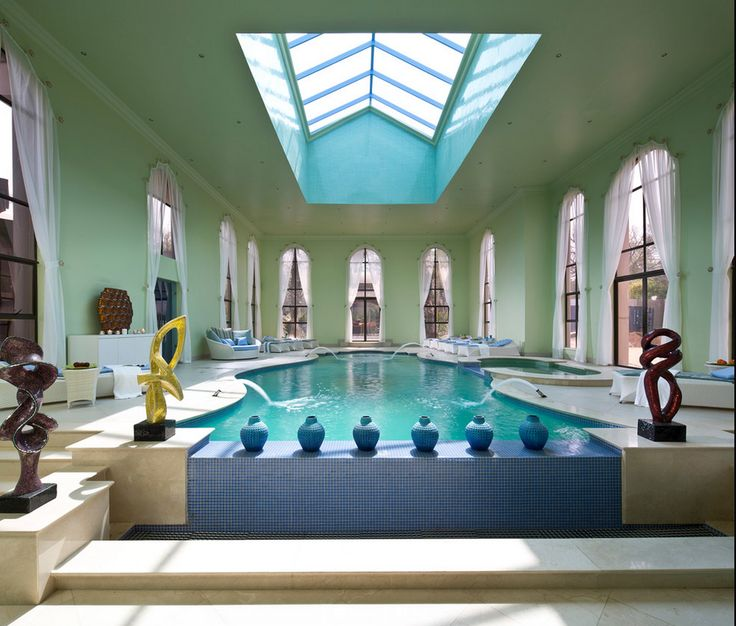 Luxury Home Indoor Swimming Pools: 33 Best Luxury Interior Images On Pinterest