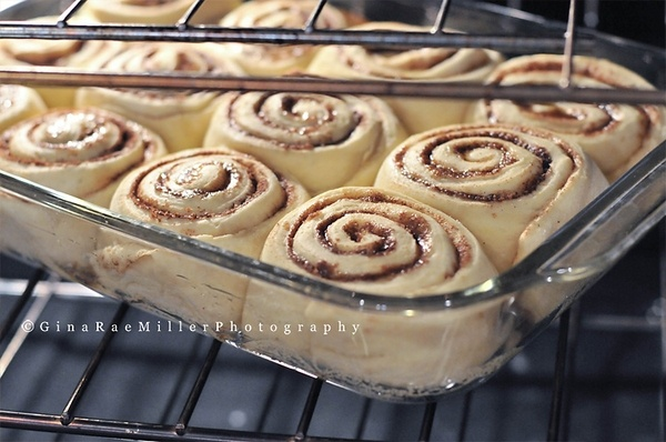 Clone of a Cinnabon. Delish! 5 stars from everyone who tried one!